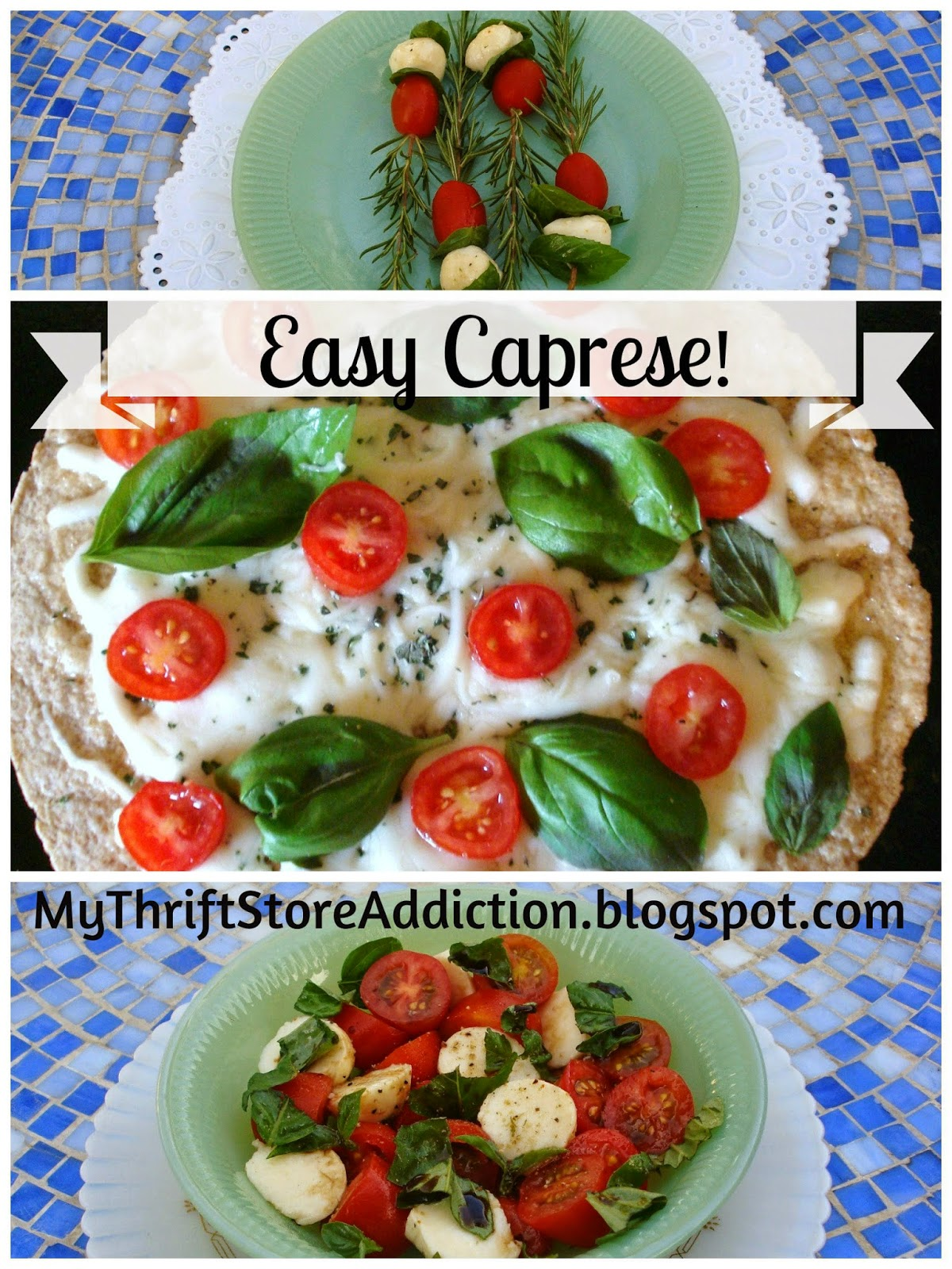 3 easy caprese recipes