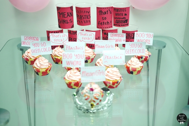 Surprise Mean Girls Bridal Shower Thank You Girls Swirls And
