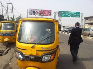 I Make Money Than Graduates, I Even Dash Them Money - Keke Rider..Reveals His Unbelievable Monthly Earnings As A Keke Driver