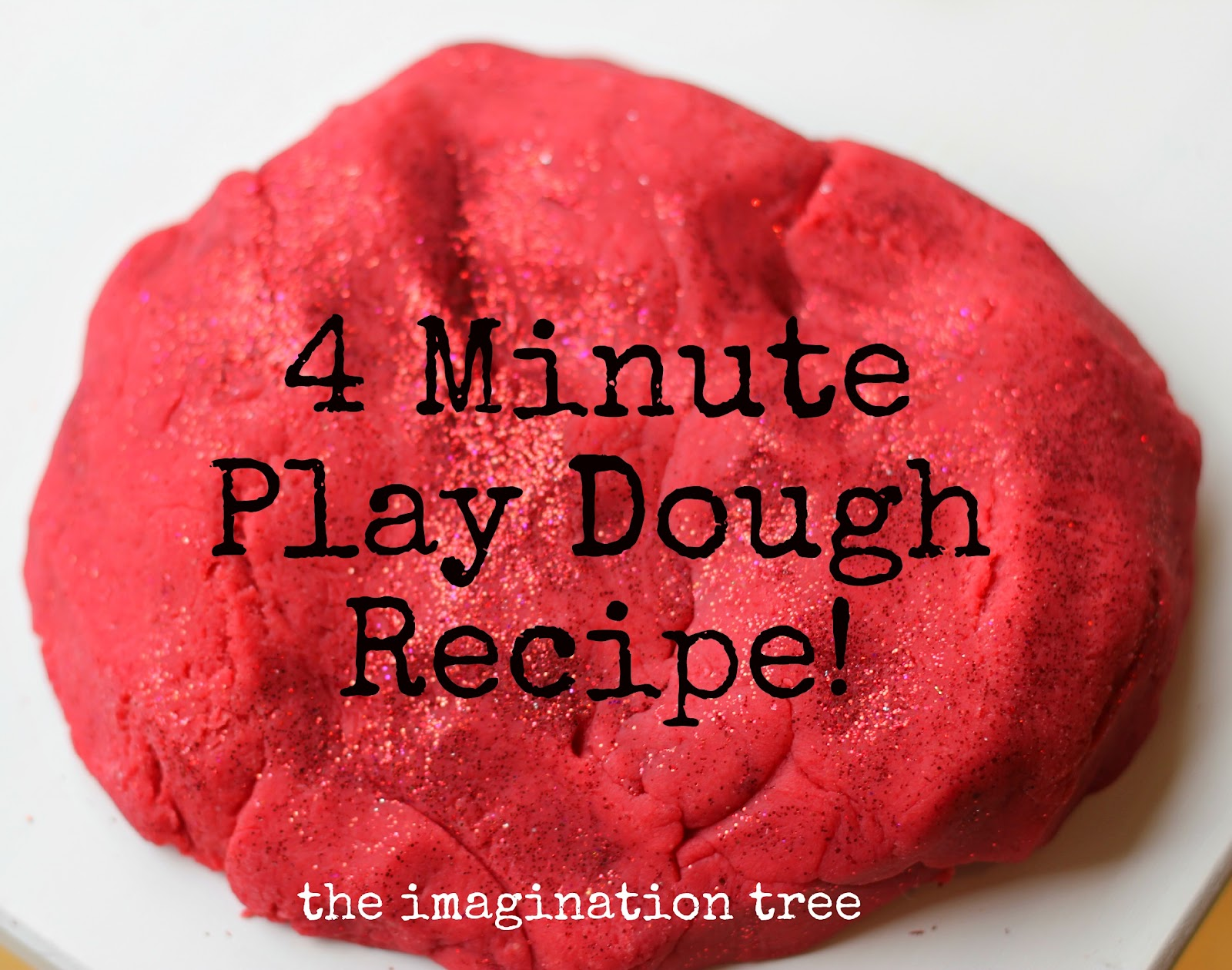Best Ever No Cook Play Dough Recipe The Imagination Tree
