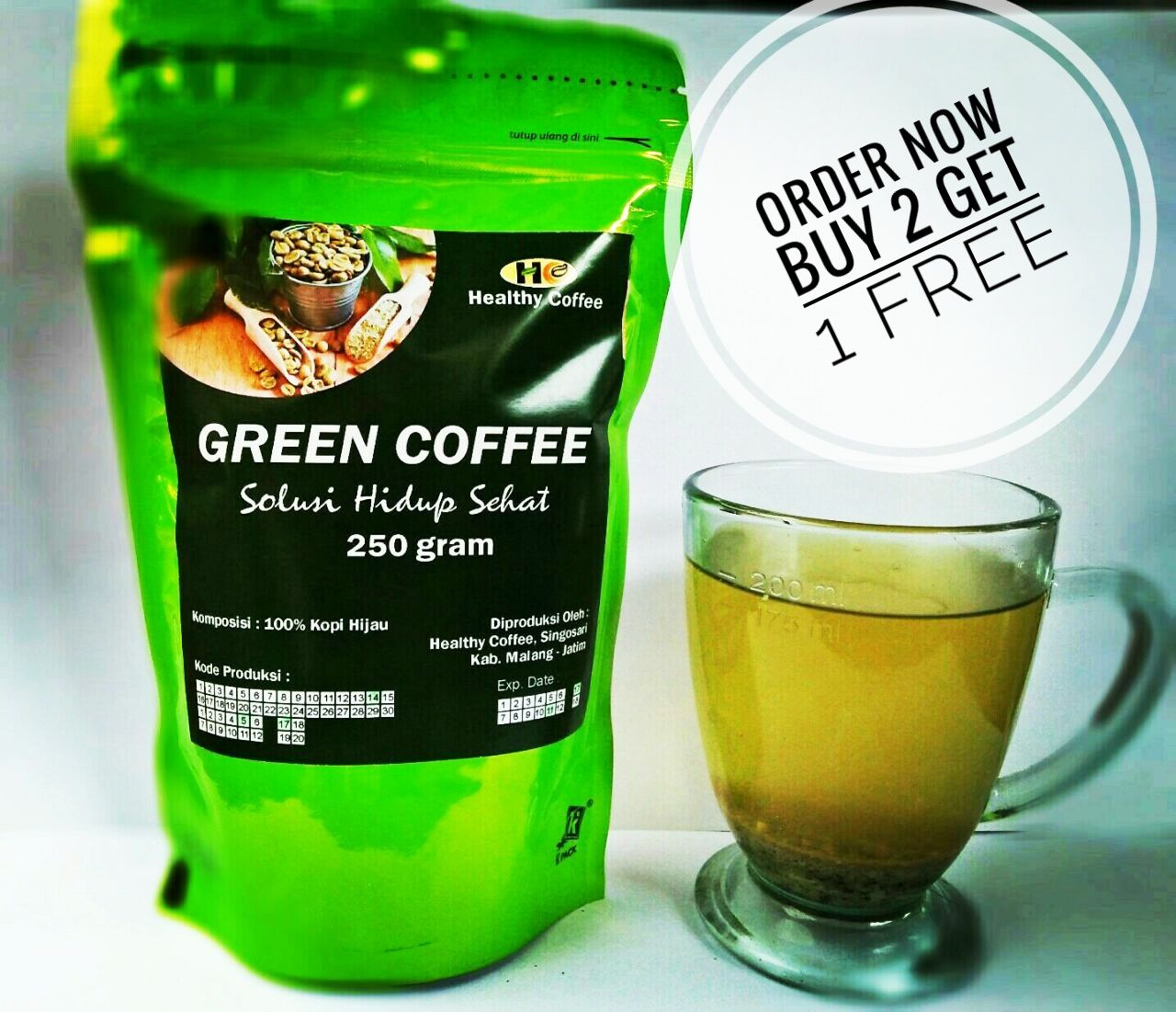 Jual Green Coffee Kopi Hijau Diet 0858 5257 0009 Harga Untuk Dan Pelangsing Badan