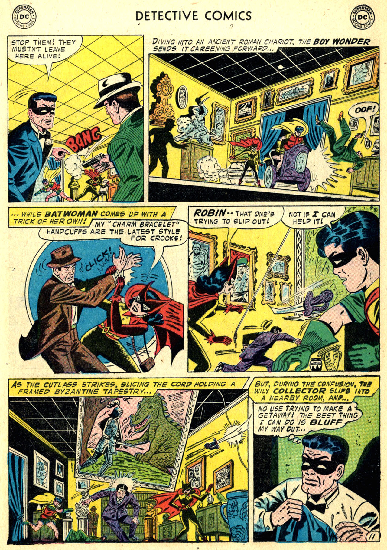 Read online Detective Comics (1937) comic -  Issue #249 - 13