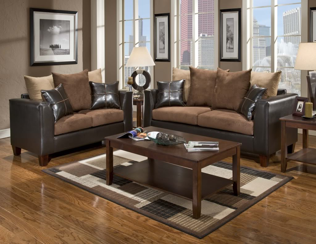 Best colour scheme for living room with dark brown sofa ...