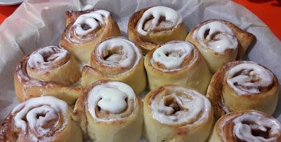 """Recepta de """"cinnamon rolls"""" o """"rotllets de canyella"""""""