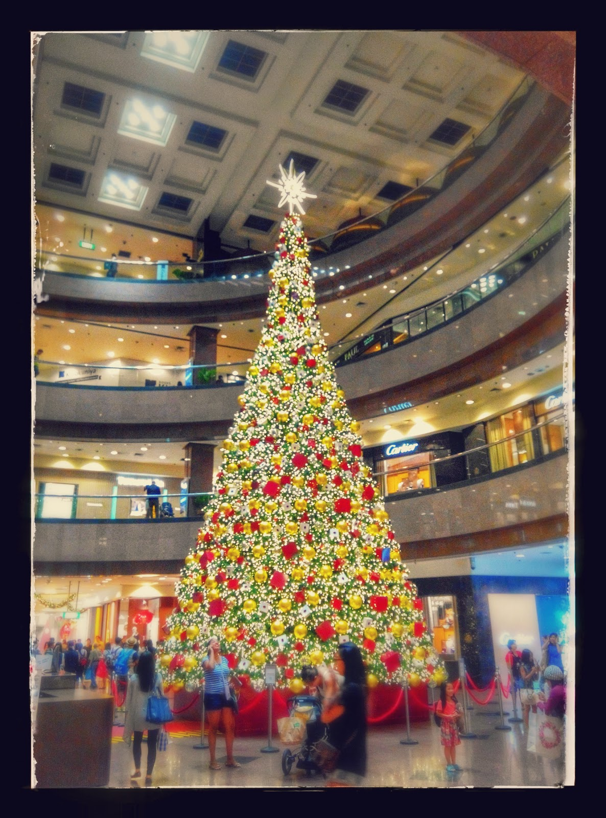 Christmas Tree, Takashimaya, Orchard Road, Singapore