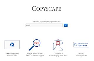 Cara Melihat Artikel Copy Paste Dengan Copyscape