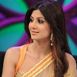 Hot Shilpa Shetty in Transparent saree