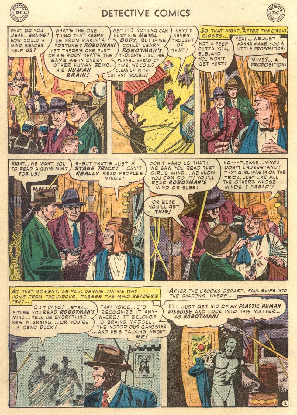 Read online Detective Comics (1937) comic -  Issue #186 - 26