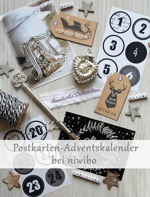 Postkarten-Adventskalender ab dem 1. Dezember