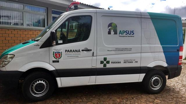 Iretama: Município recebe ambulância através do APSUS