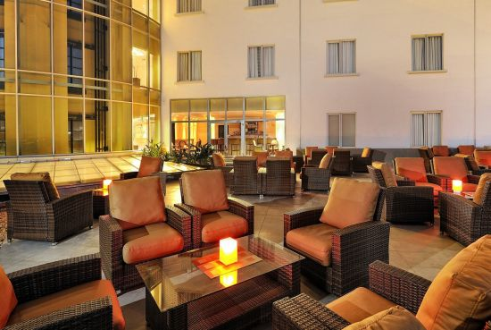 Rooftop bar, 2nd floor of the Four Points by Sheraton Lagos hotel