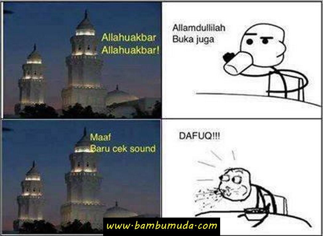Meme dp bbm lucu bulan ramadhan pas blur