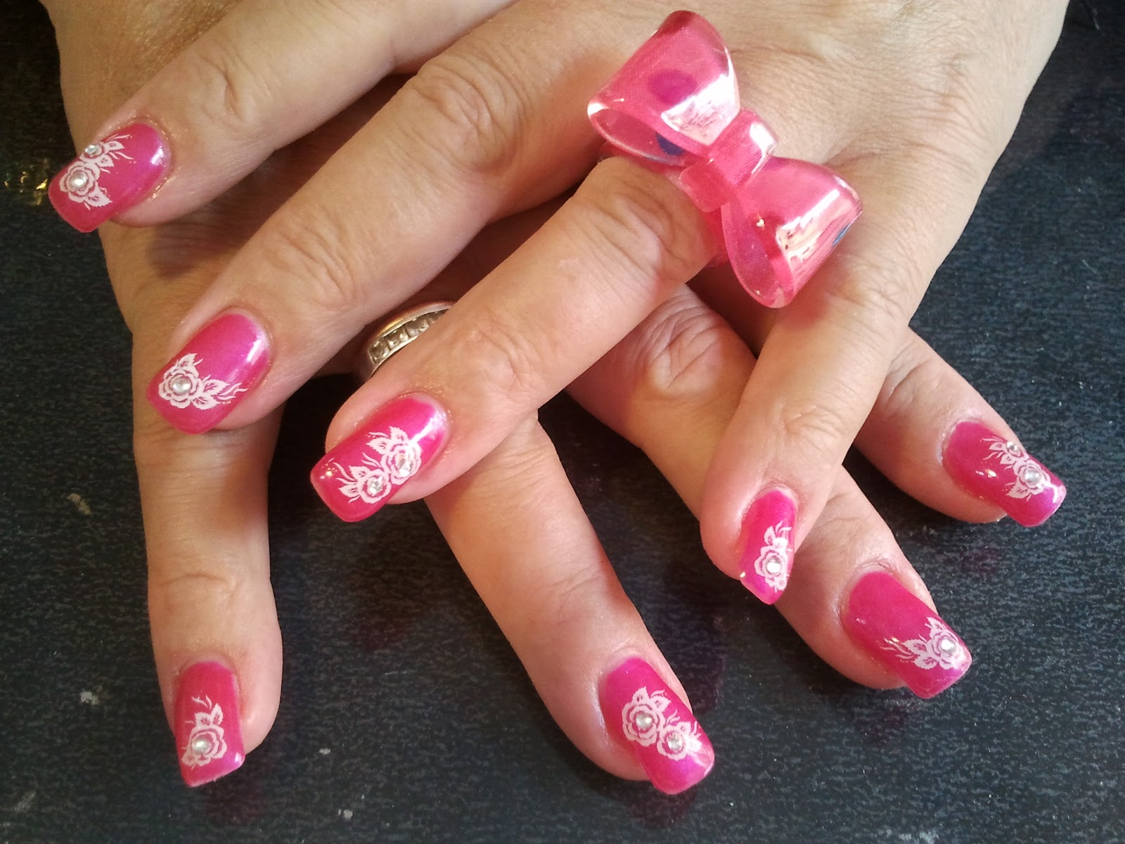 beautedesign shop stickers ongles gel de couleurs rose. Black Bedroom Furniture Sets. Home Design Ideas