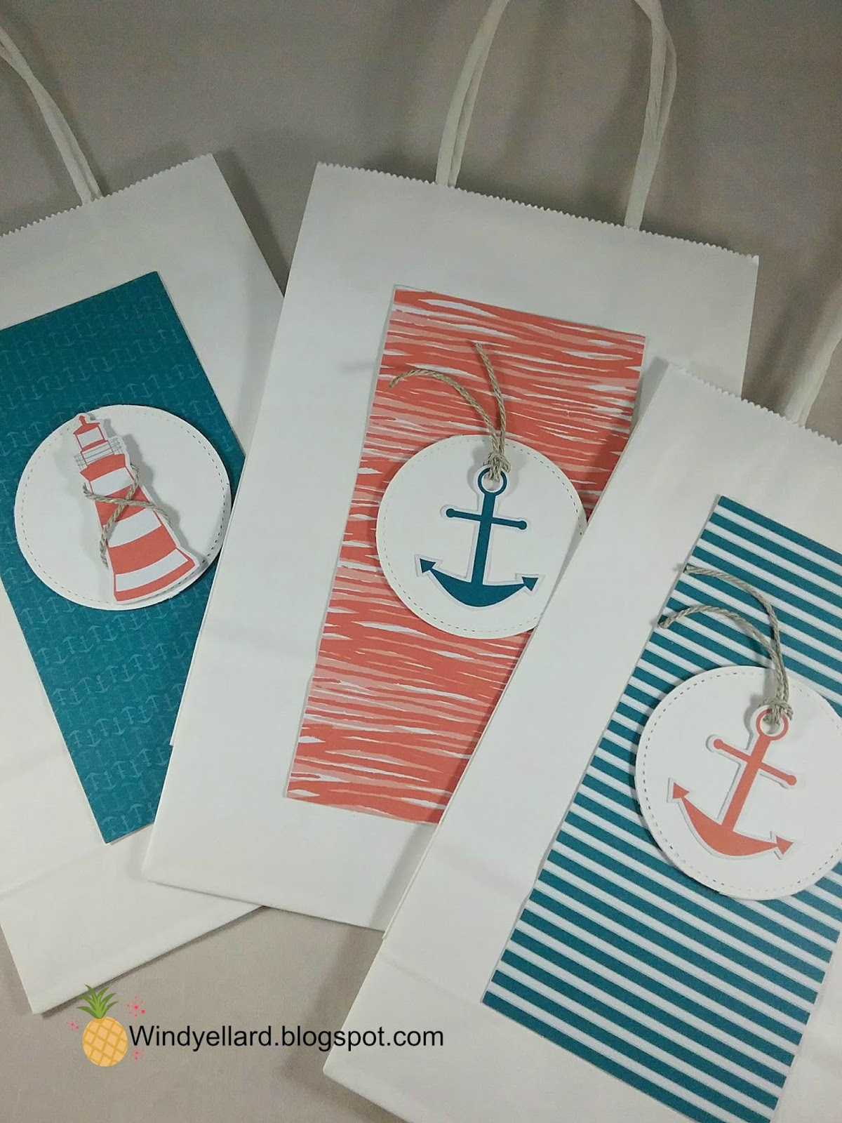 You Are My Anchor Gift Bags