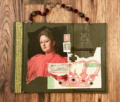 Denise Cerro hanging collage