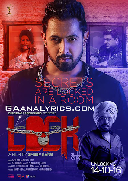 Poster Of Lock 2016 Punjabi 720p HDRip Full Movie Download