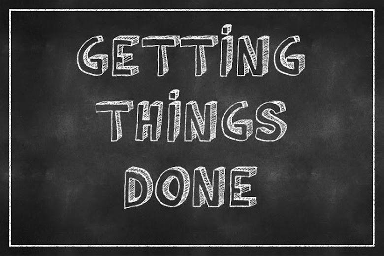 時間管理講座—搞定心得 (GTD, Getting things done)