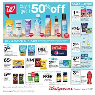 ⭐ Walgreens Ad 7/21/19 and Walgreens Ad 7 28 19 ✅ Walgreens Weekly Ad July 21 2019