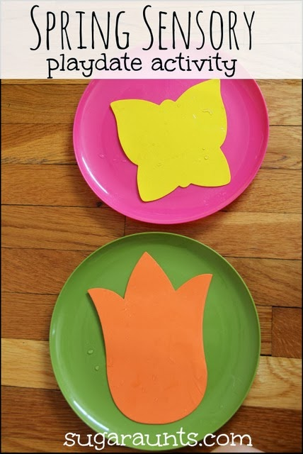 This Spring themed activity is perfect for a play date.