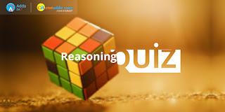 Reasoning Quiz For KVS  2017 Exams