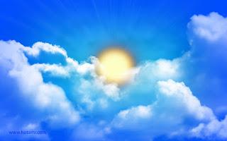 Percobaan Pembuktikan Matahari berwarna Kuning dan Langit berwana Biru