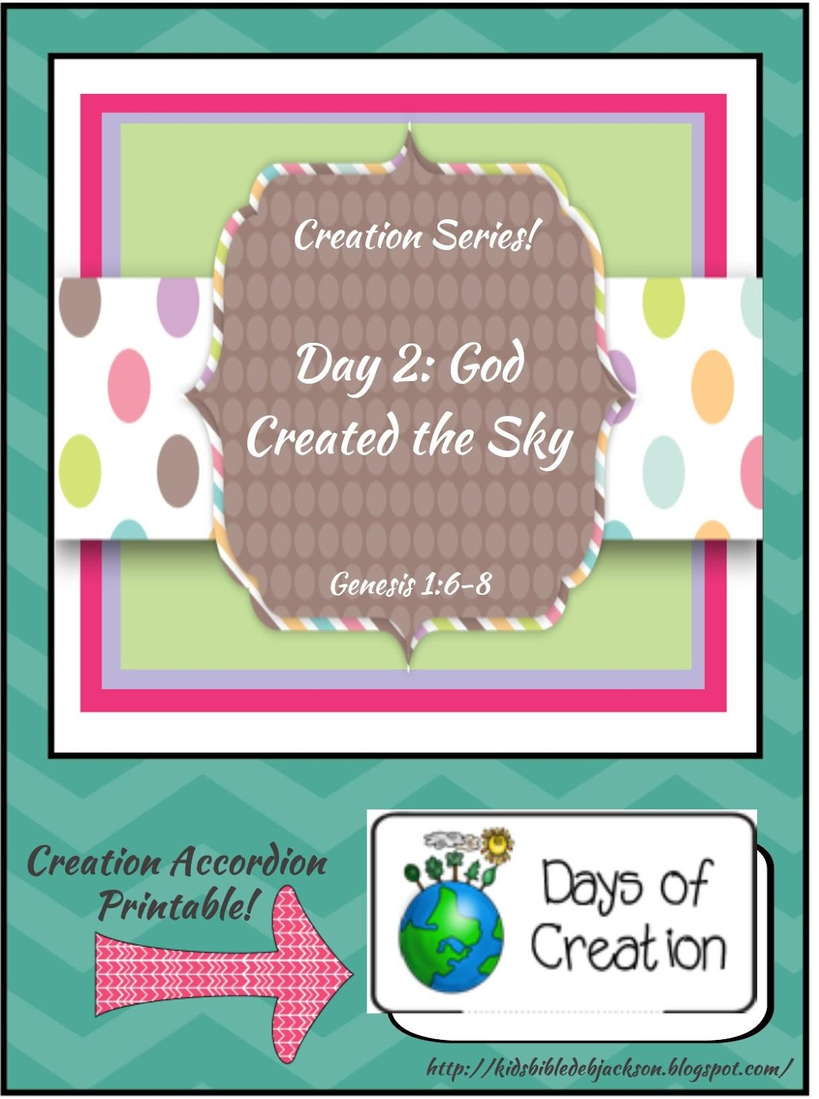 http://kidsbibledebjackson.blogspot.com/2015/01/the-creation-for-kids-day-2.html