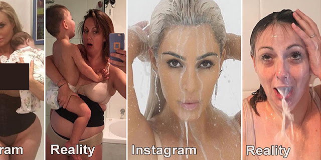 10+ Instagram VS Reality, This Is How It Looks Really Motherhood!