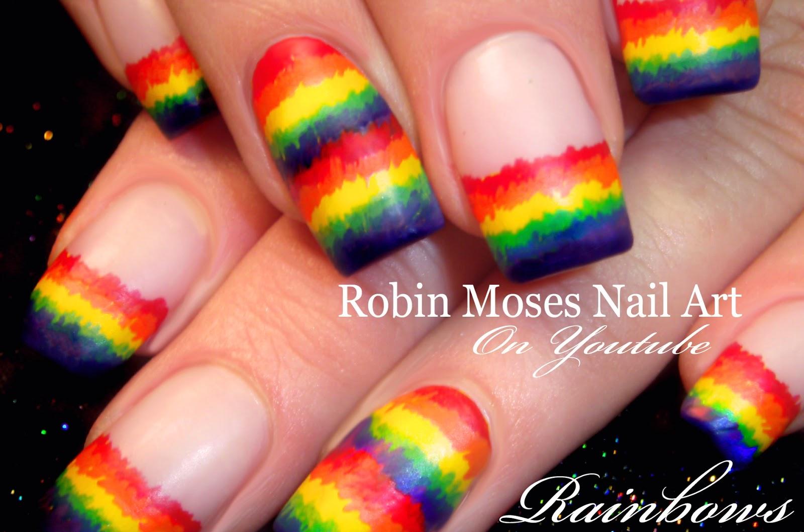 Robin Moses Nail Art: Kocopelli Nails | Southwestern ...