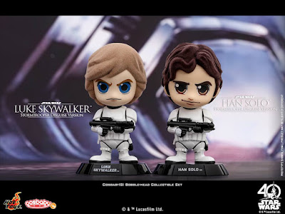 Star Wars Episode IV - A New Hope Cosbaby Vinyl Figures by Hot Toys