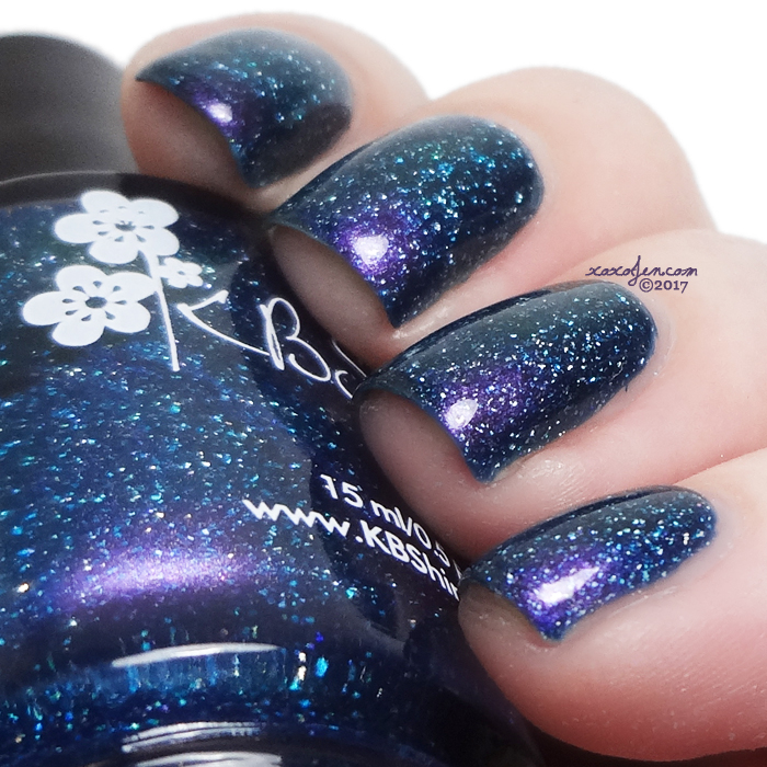 xoxoJen's swatch of KBShimmer The Age Of Aquarium