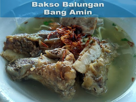 Kuliner Pemalang - Bakso Balungan Bang Amin Ada di Petarukan, loh