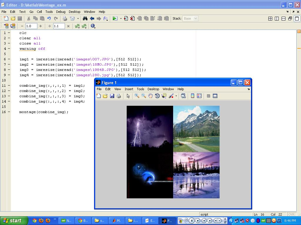 Programming Tips: Multiple Images Shows In One Figure Window