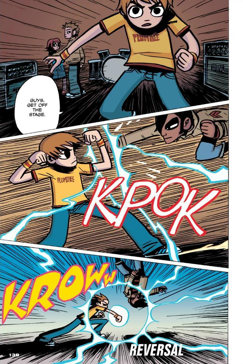 Read online Scott Pilgrim comic -  Issue #1 - 125