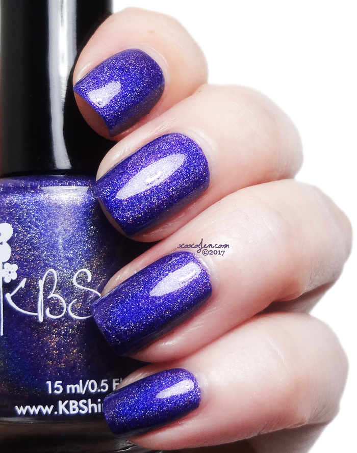 xoxoJen's swatch of KBShimmer Come On Get App-y