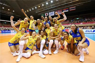 Brasil vence Sérvia Grand Prix 2017 seleção brasileira vôlei feminino