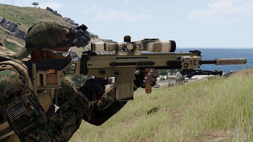 Arma3用のMk20 SSR MOD