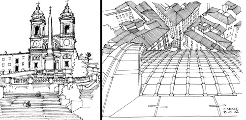 00-Gérard-Michel-Italian-Urban-Sketches-to-Capture-Architecture-in-a-moment-in-Time-www-designstack-co