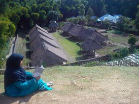 Desa adat beleq Sembalun