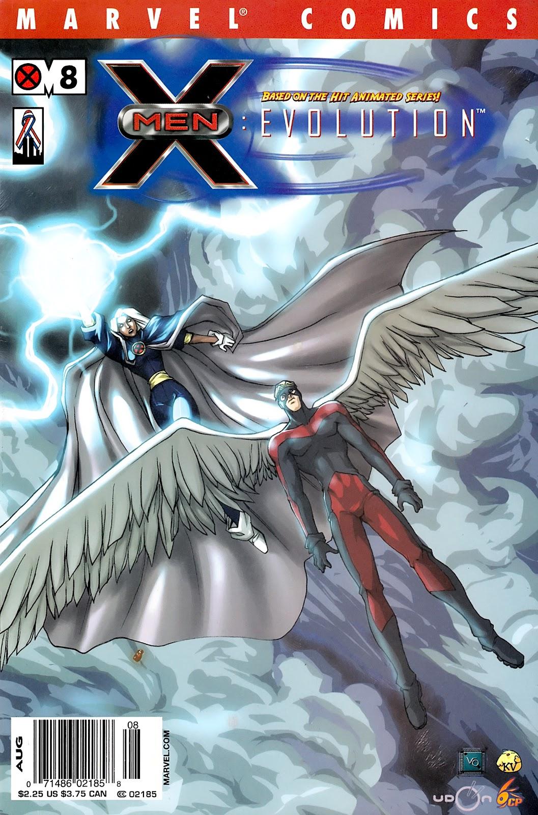 X-Men: Evolution 8 Page 1