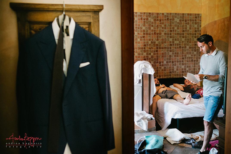 preparazione sposo Alassio