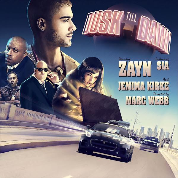 ZAYN - Dusk Till Dawn (feat. Sia) - Single  Cover