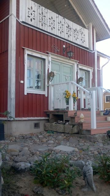 vanhan talon sisäänkäynti