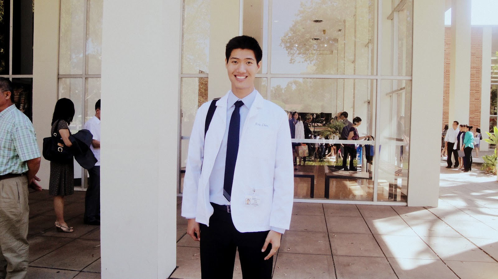 Obsessed with teeth whitening: 2012 UCLA Dental School White