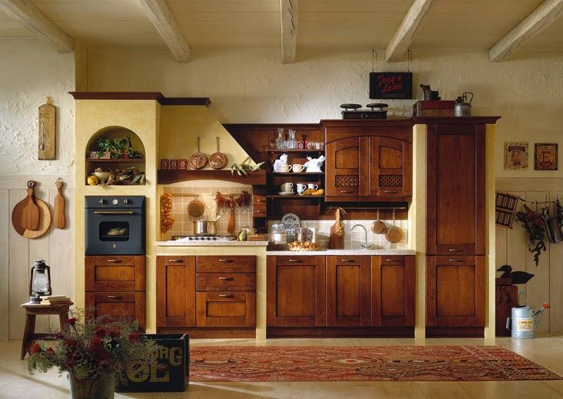 modelo cocina clásica
