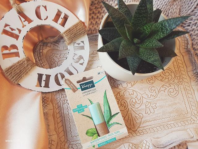 Kneipp Lippenfplege - Hydro mit Wasserminze und Aloe Vera