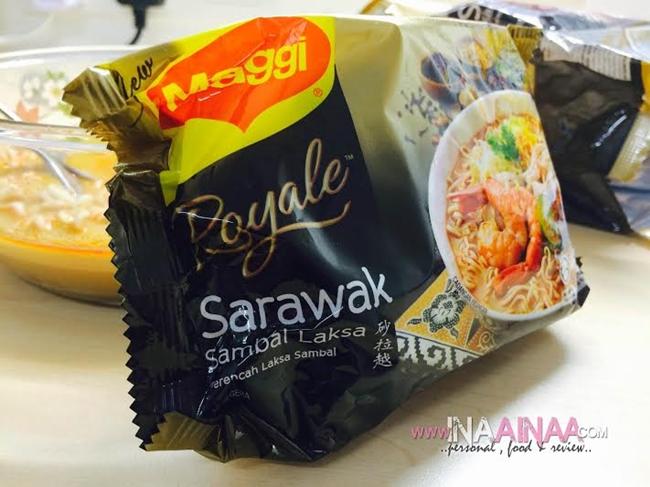 Tekak Rasa Nak Makan Laksa Sarawak Maggi Royale Iafoodhunter