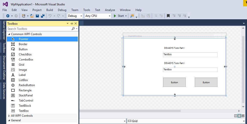 Powershell_WPF - Part I - How to create a GUI