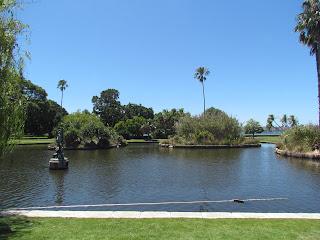 Main pond, Sydney Botanical Gardens