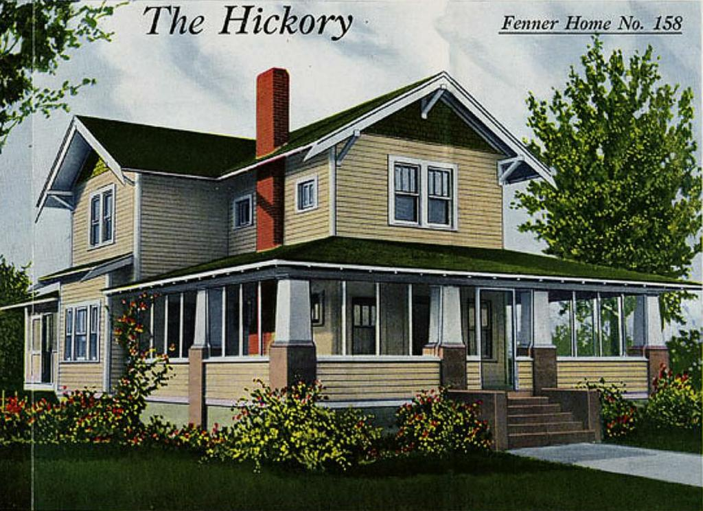 I Searched The Antique Home Site And Come Up With The Hickory House. It Has  Three Bedrooms On The Second Floor And I Modified The Storage Area To  Become A ...
