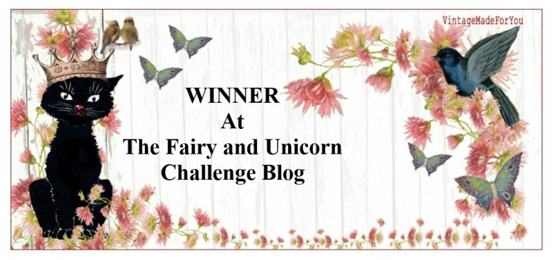 Winner at The Fairy and The Unicorn Challenge Blog